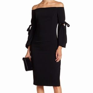 Do + Be NWT Black Off the Shoulder Dress, Large